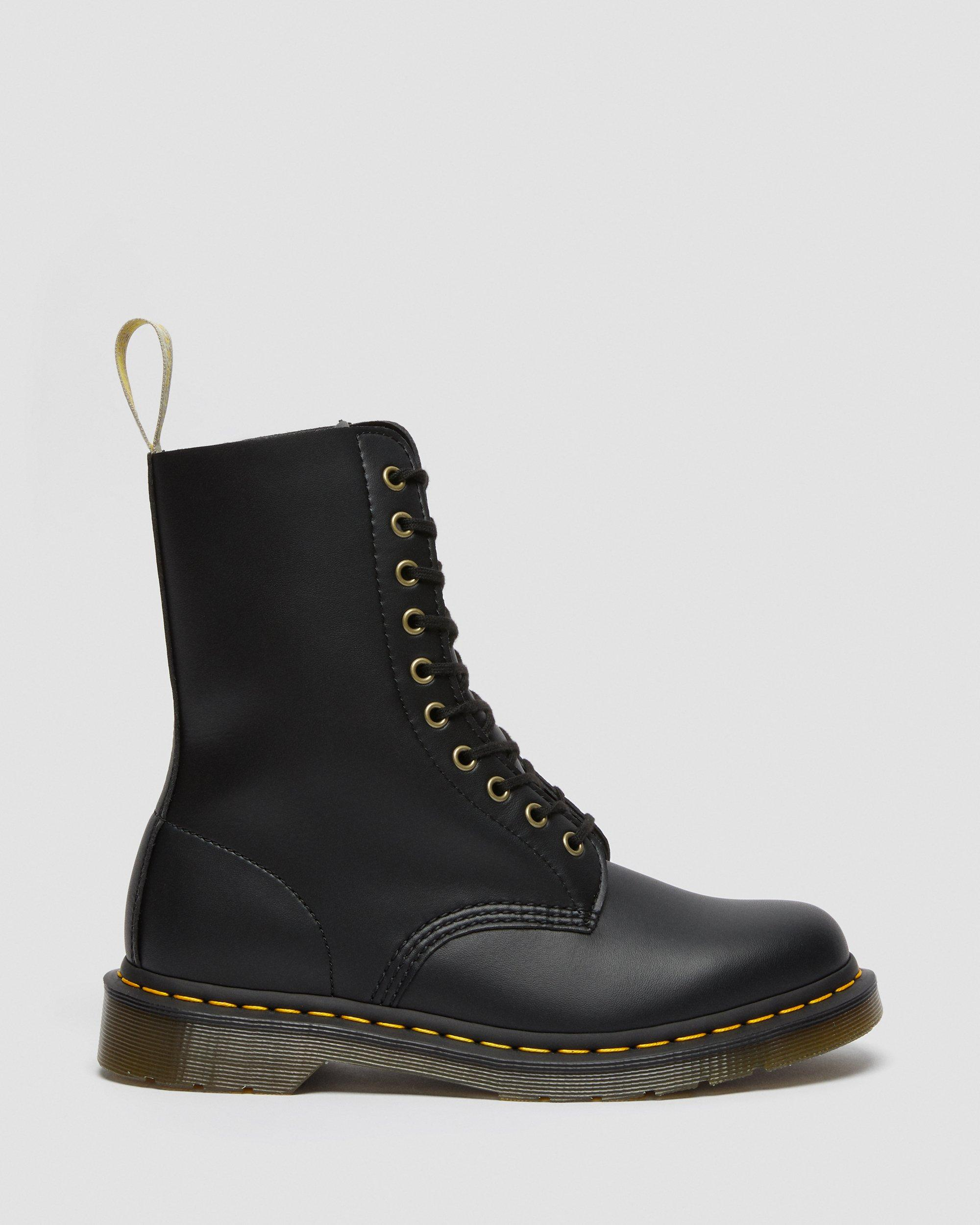 Dr Martens 1490 Vegan Felix Rub Off Black 23981001 Fashion
