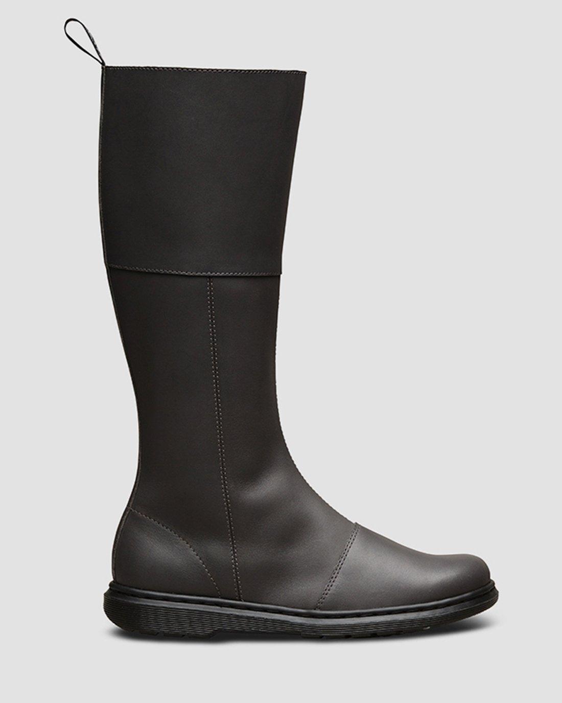 Buy Dr. Martens Women's's Lahiri High Boots, Grey Gunmetal