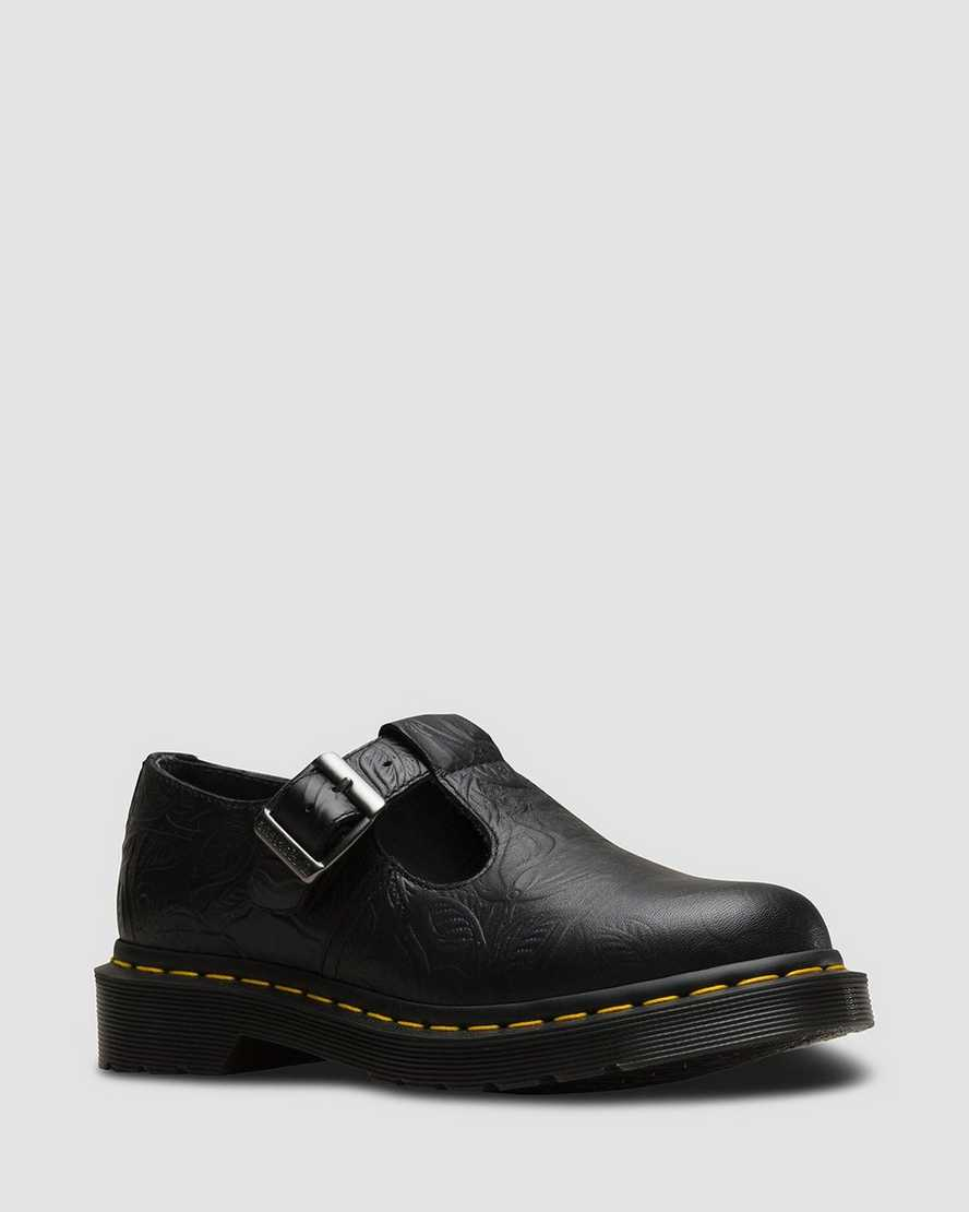Polley Floral Emboss | Dr Martens
