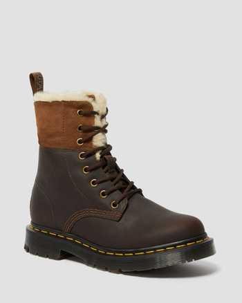 DARK BROWN+MUSTANG | Boots | Dr. Martens