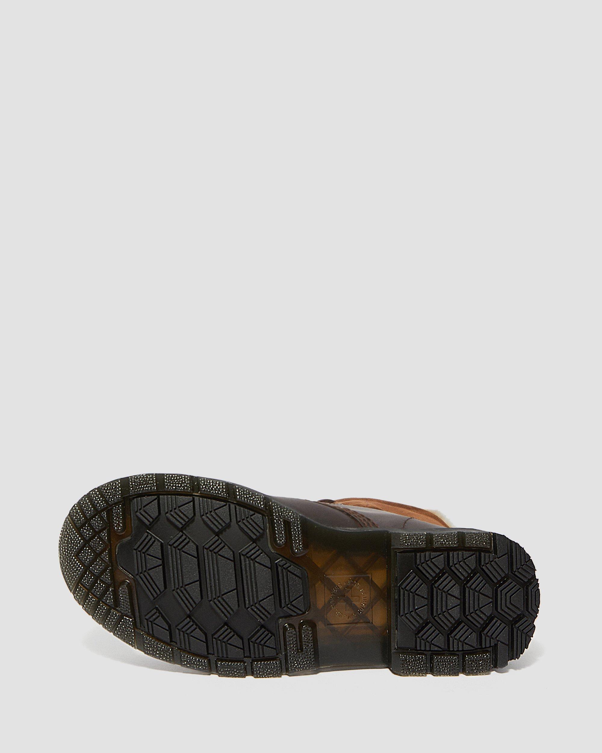 Dr. Martens brown wintergrip 1460 boots