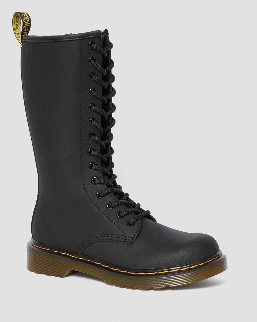 JUNIOR 1914 LEATHER TALL BOOTS | Dr Martens