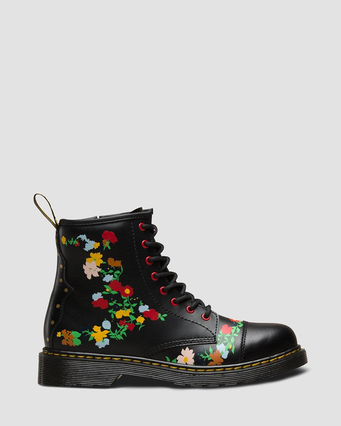 DR MARTENS YOUTH 1460 POOCH FLOWER