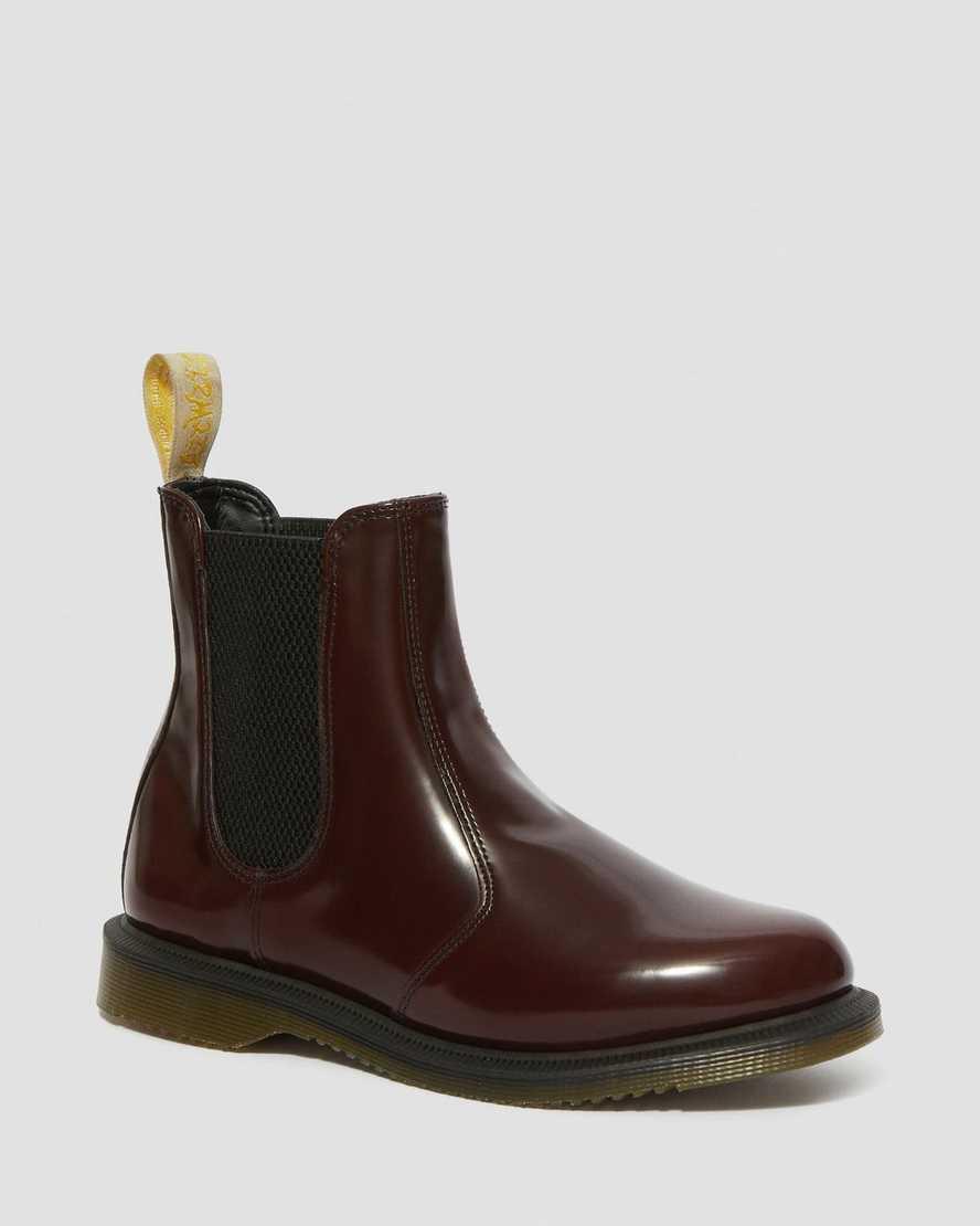 nieuwe afbeeldingen van gedetailleerde look nieuwe lagere prijzen DR MARTENS Vegan Flora Oxford Brush Boots