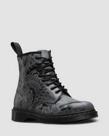 BLACK+GUNMETAL | Boots | Dr. Martens