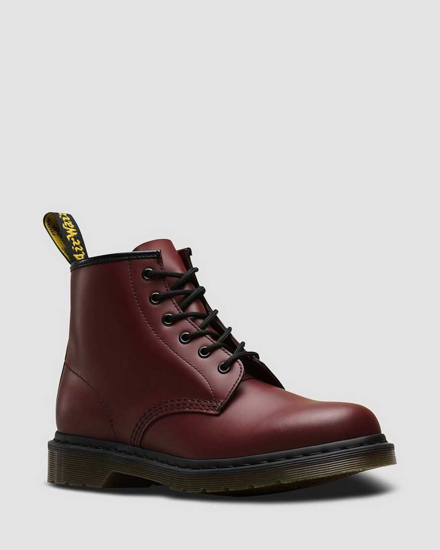101 Smooth Leather Ankle Boots   Dr Martens