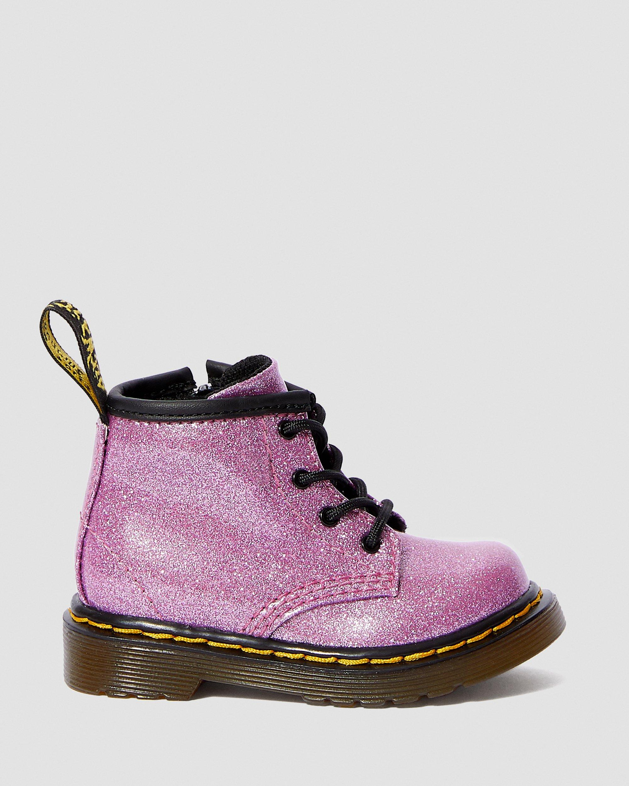 INFANT 1460 GLITTER LACE UP BOOTS | Dr