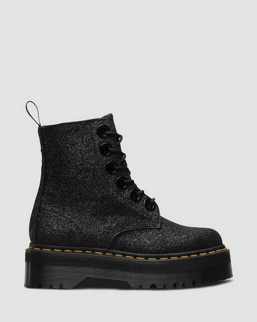 free delivery pick up cheap price DR MARTENS Molly Glitter