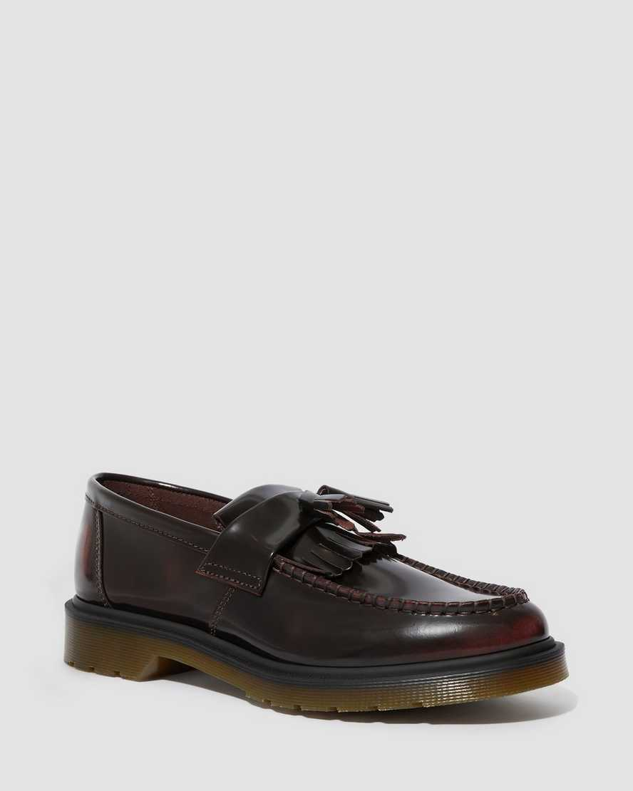 Adrian Arcadia Leather Tassle Loafers Dr Martens Official