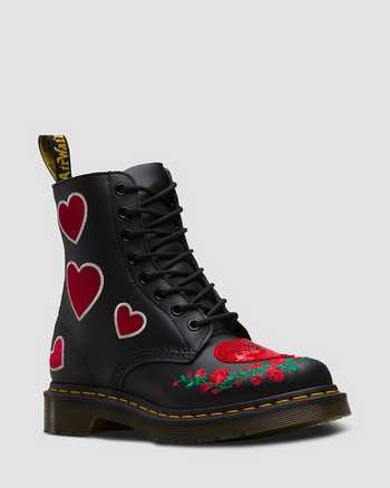 BLACK+DM'S RED | Boots | Dr. Martens