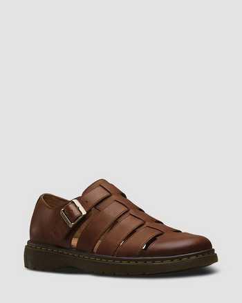 TAN | Sandals | Dr. Martens
