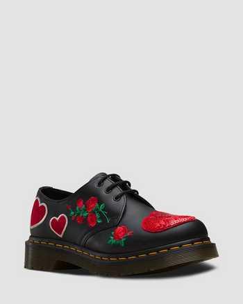 BLACK+DM'S RED | Shoes | Dr. Martens