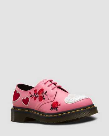 GERANIUM PINK+WHITE | Shoes | Dr. Martens