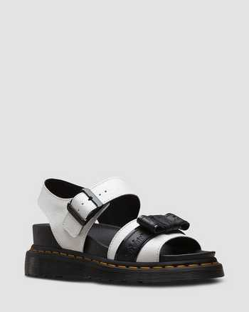 WHITE+BLACK+BLACK | Sandals | Dr. Martens