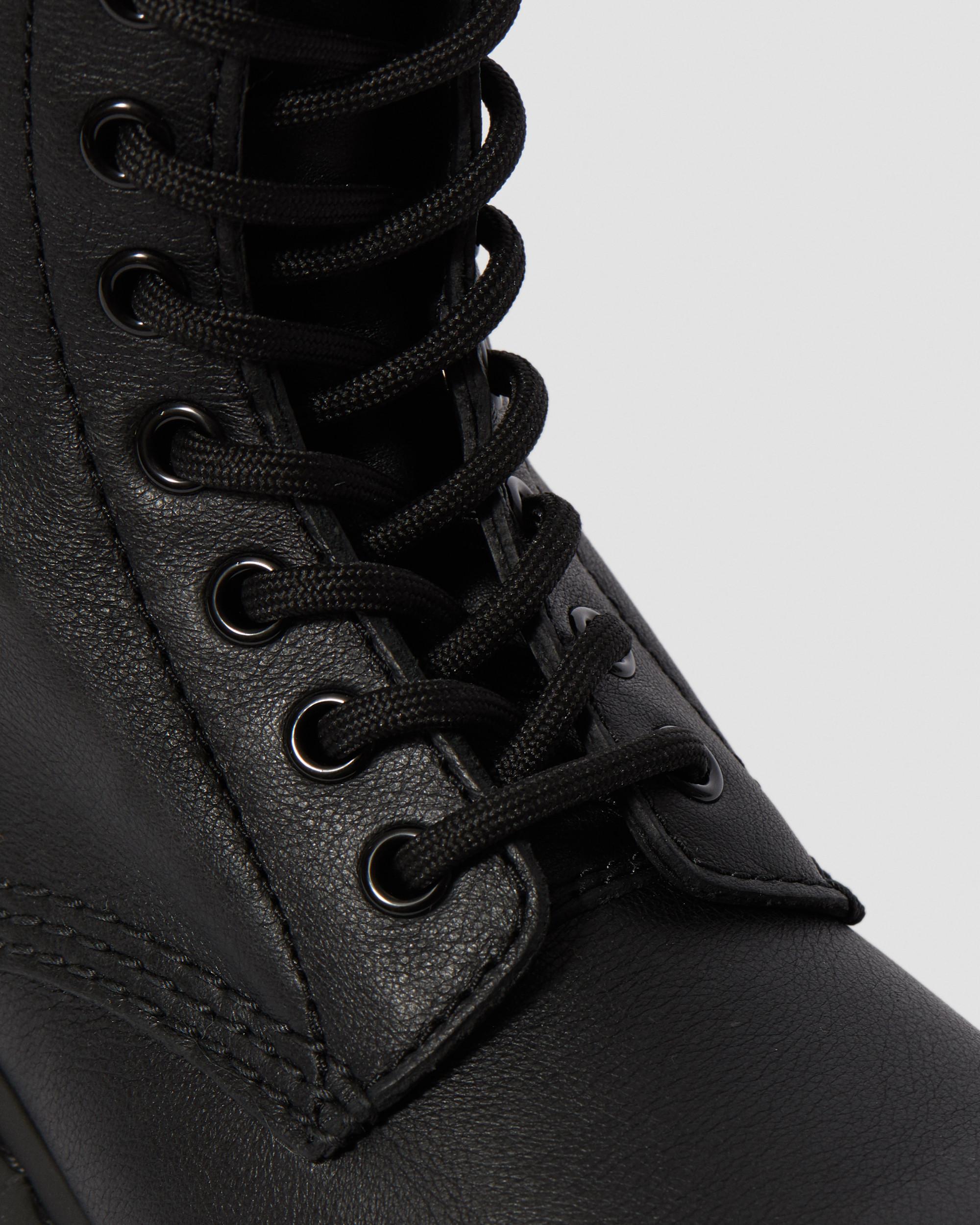 Dr. Martens1460 Pascal Virginia Mono Schwarze Damen Boots