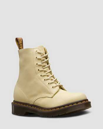 PASTEL YELLOW | Stiefel | Dr. Martens