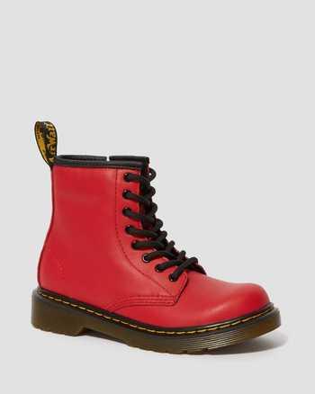SATCHEL RED | Boots | Dr. Martens