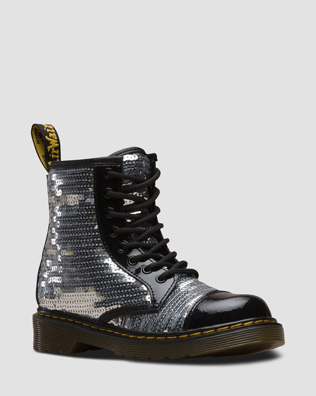 1460 Pooch Sequin junior | Chaussures en cuir verni | Boots