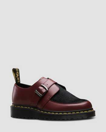 CHERRY RED+BLACK | Chaussures | Dr. Martens