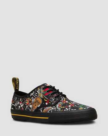 WHITE+PATCH REPEAT MULTI | Shoes | Dr. Martens