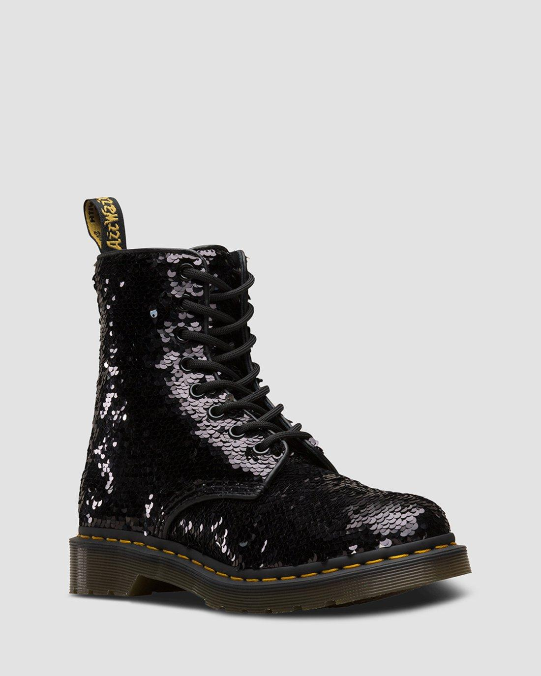 doc martens wedge boots