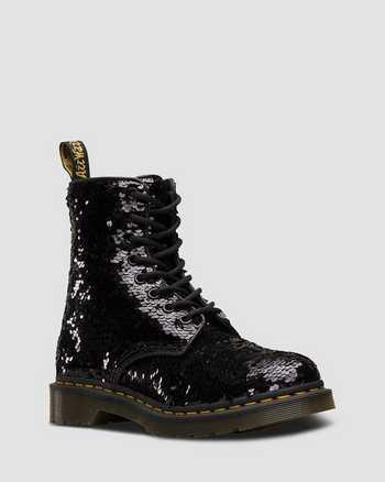 BLACK+SILVER | Boots | Dr. Martens