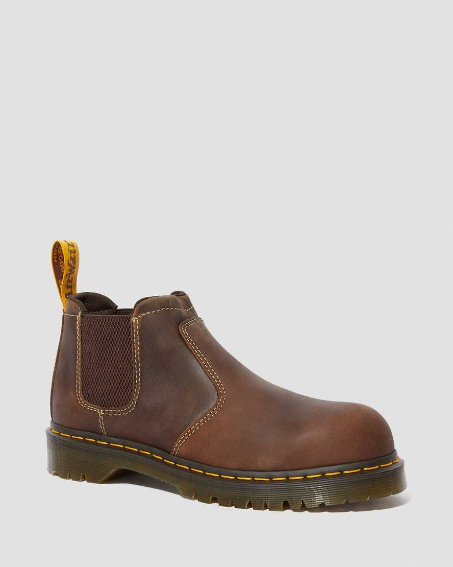 Furness Steel Toe Chelsea Work Boots Dr Martens Official