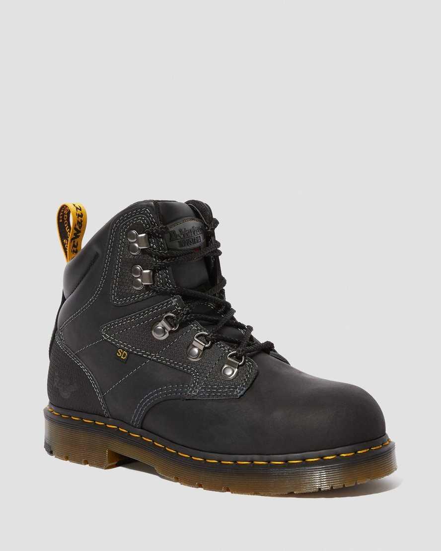 Earlstoke Steel Toe Work Boots | Dr Martens