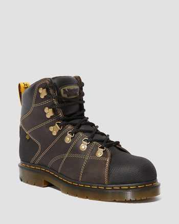 DARK BROWN+BLACK | Boots | Dr. Martens