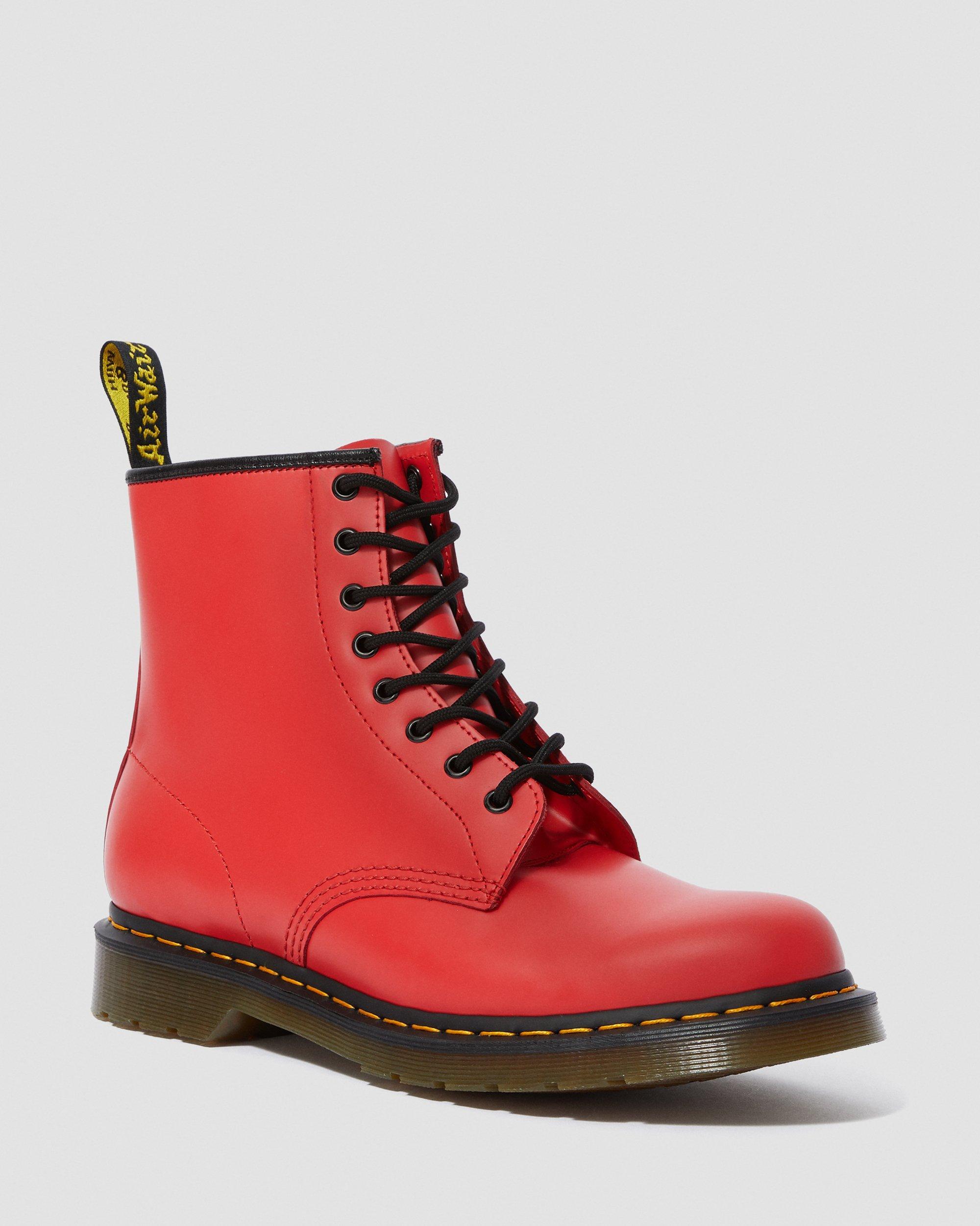 Beliebt Damen 1460 8 augen boot Red Dr. Martens Loafers