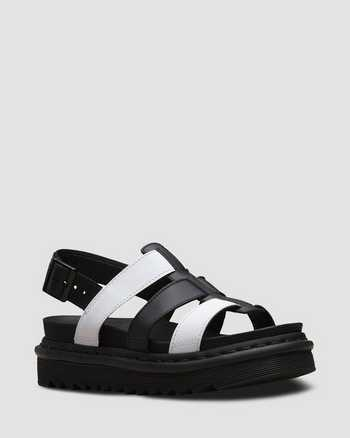WHITE+BLACK | Sandals | Dr. Martens
