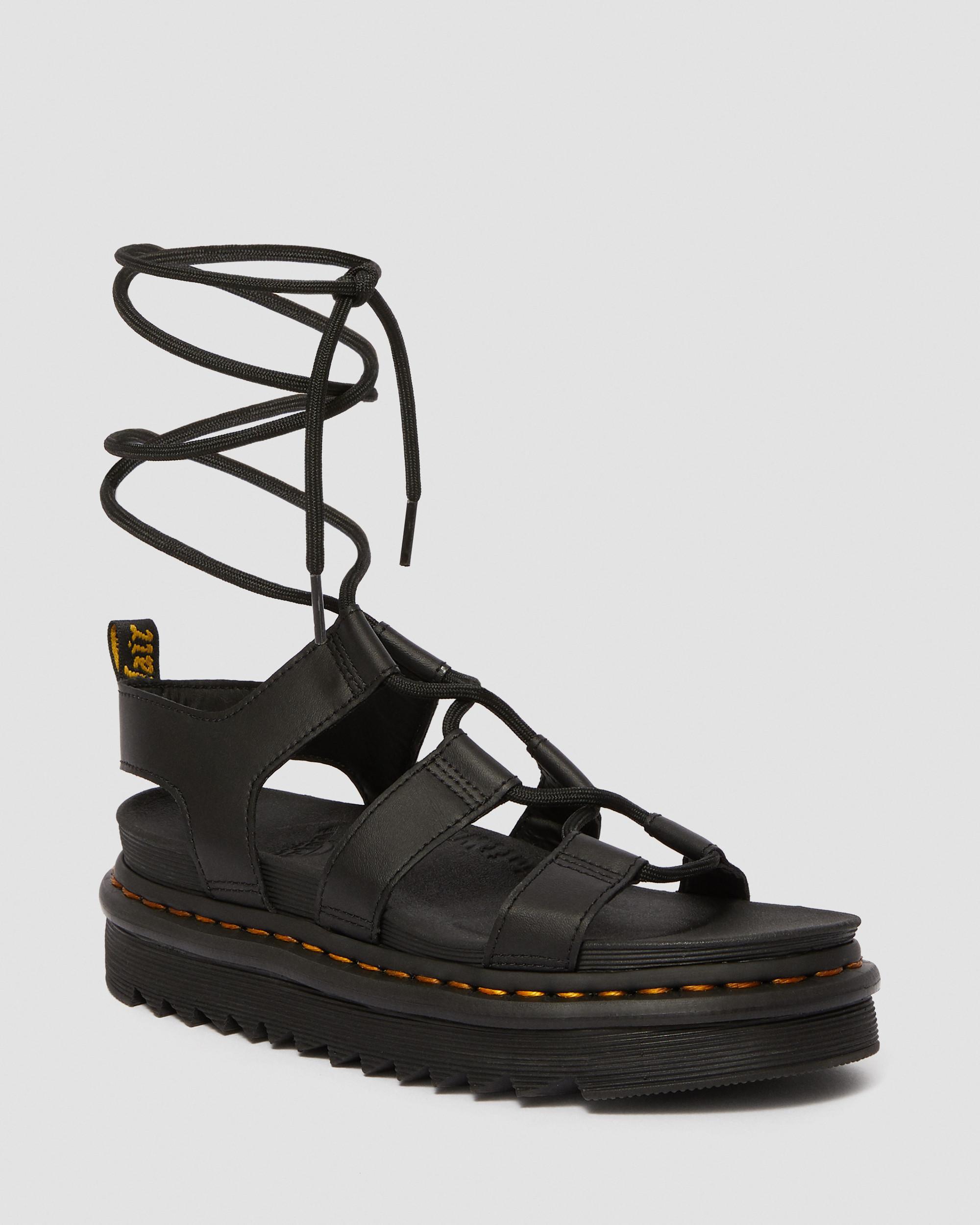 platform sandals dr martens