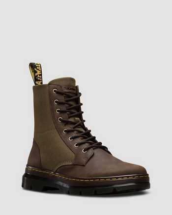 DARK BROWN+DMS OLIVE | Boots | Dr. Martens