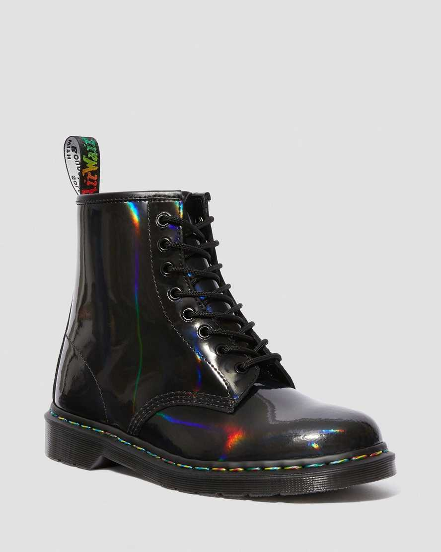 1460 In Pelle Verniciata Rainbow by Dr. Martens