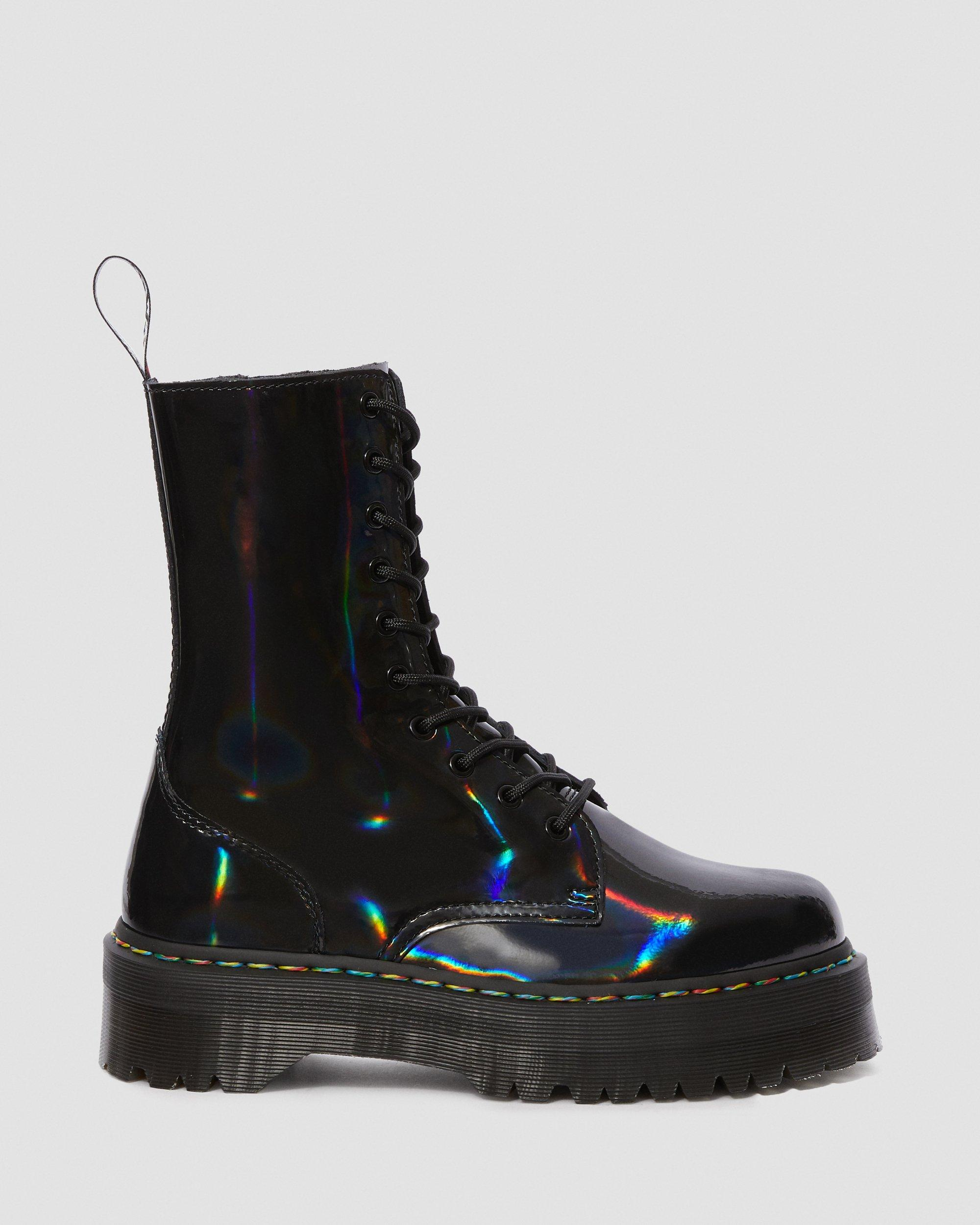 doc martens rainbow boots