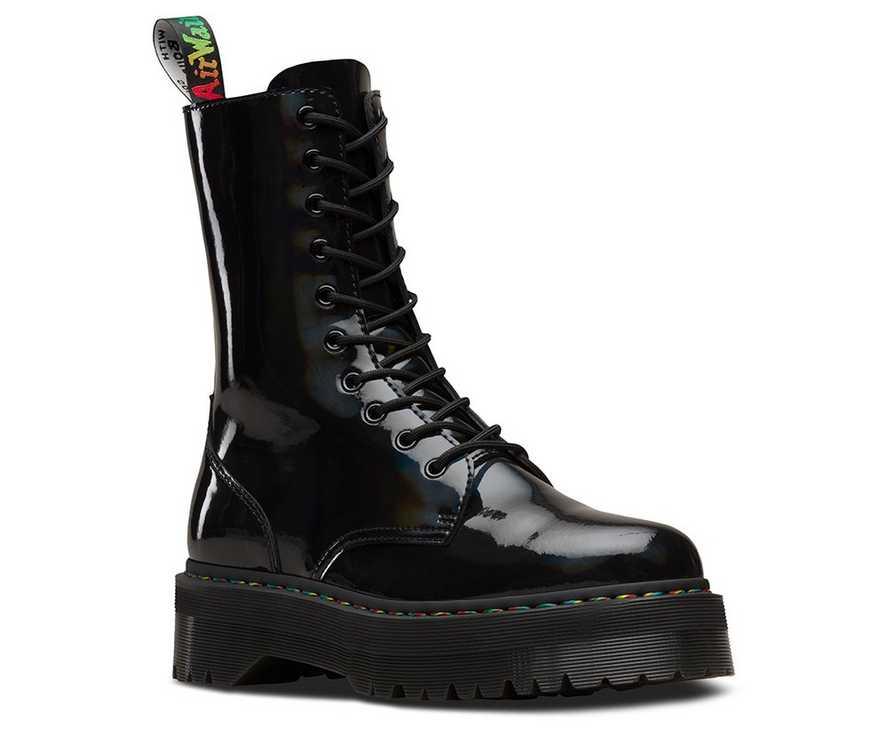 bbb5c4b98f JADON HI RAINBOW PATENT | Men's Boots | Dr. Martens Official