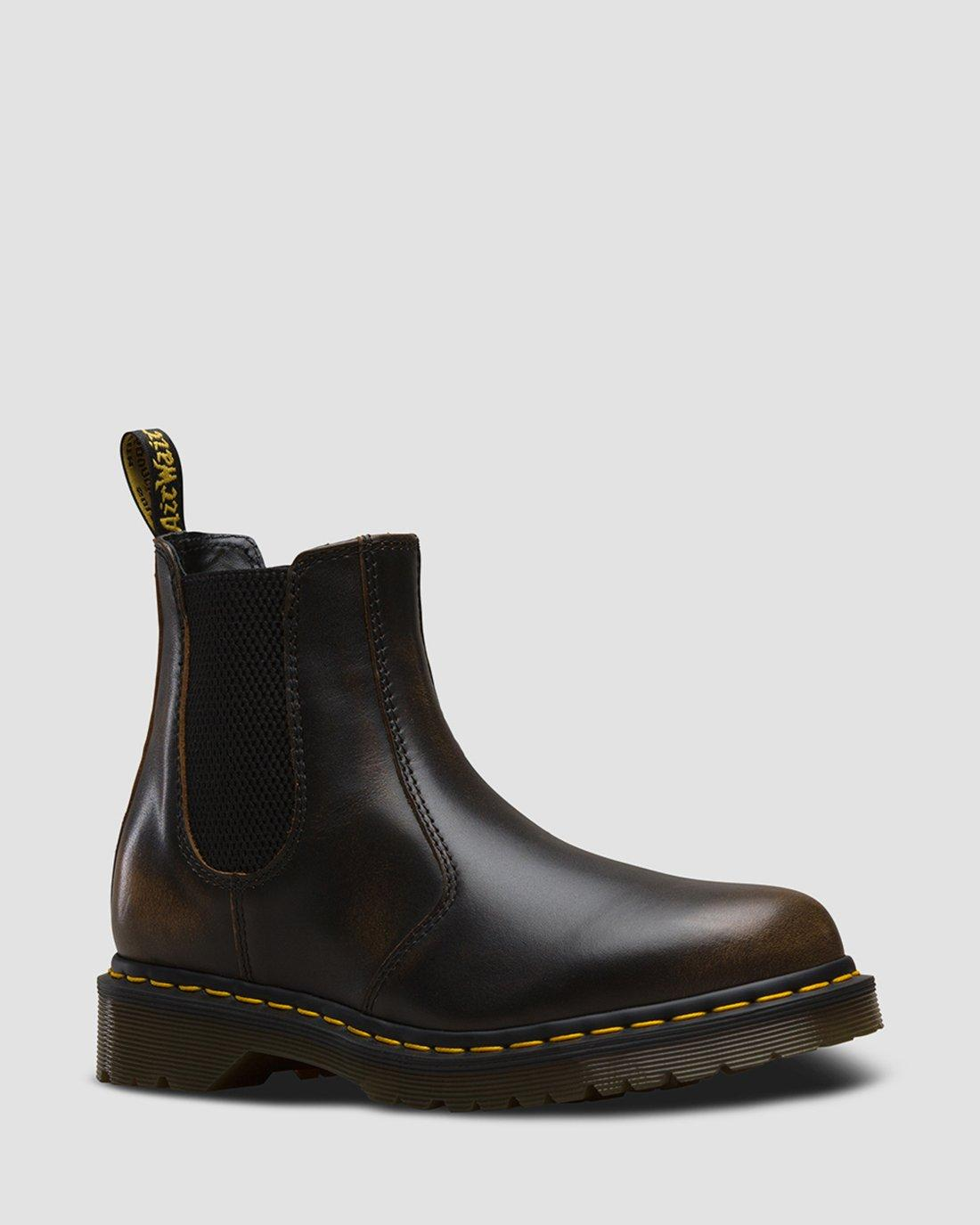 Nouveaux produits d été DR MARTENS Marron bottines boots