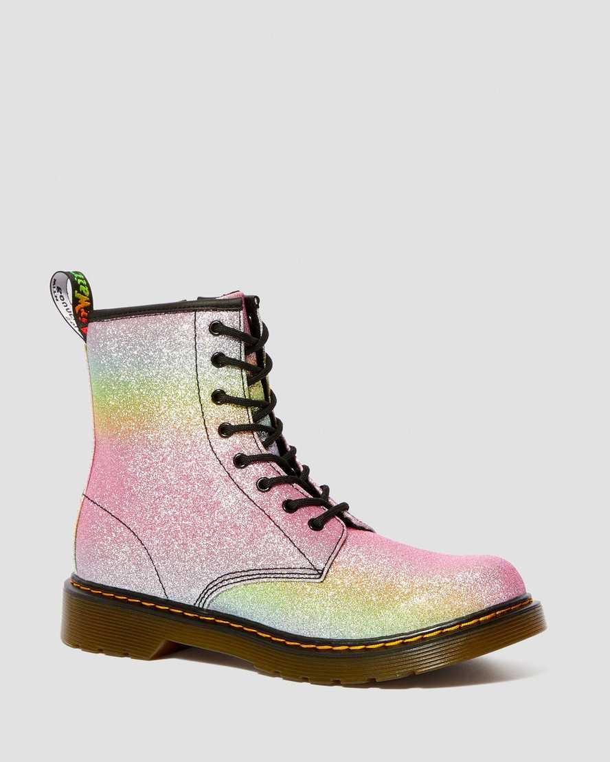 fashion styles modern style world-wide selection of DR MARTENS YOUTH 1460 RAINBOW GLITTER