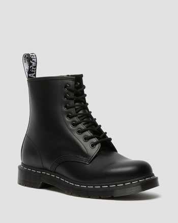 BLACK AND WHITE WELT STITCH | Boots | Dr. Martens