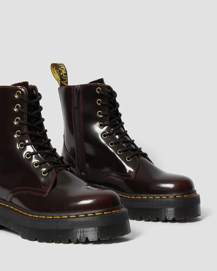 Jadon Arcadia Leather Platform Boots Boots Leather Boots Shoes Amp Accessories Dr Martens Uk