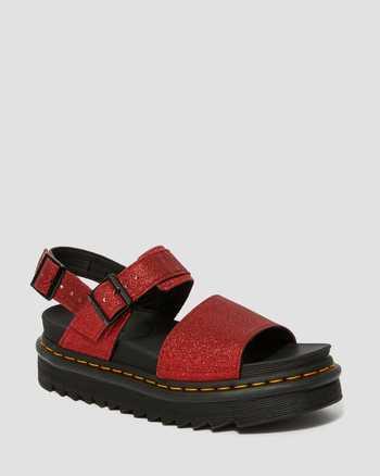 RED | Sandals | Dr. Martens