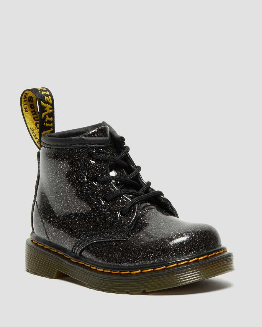 hot products classic shoes new selection DR MARTENS INFANT 1460 GLITTER