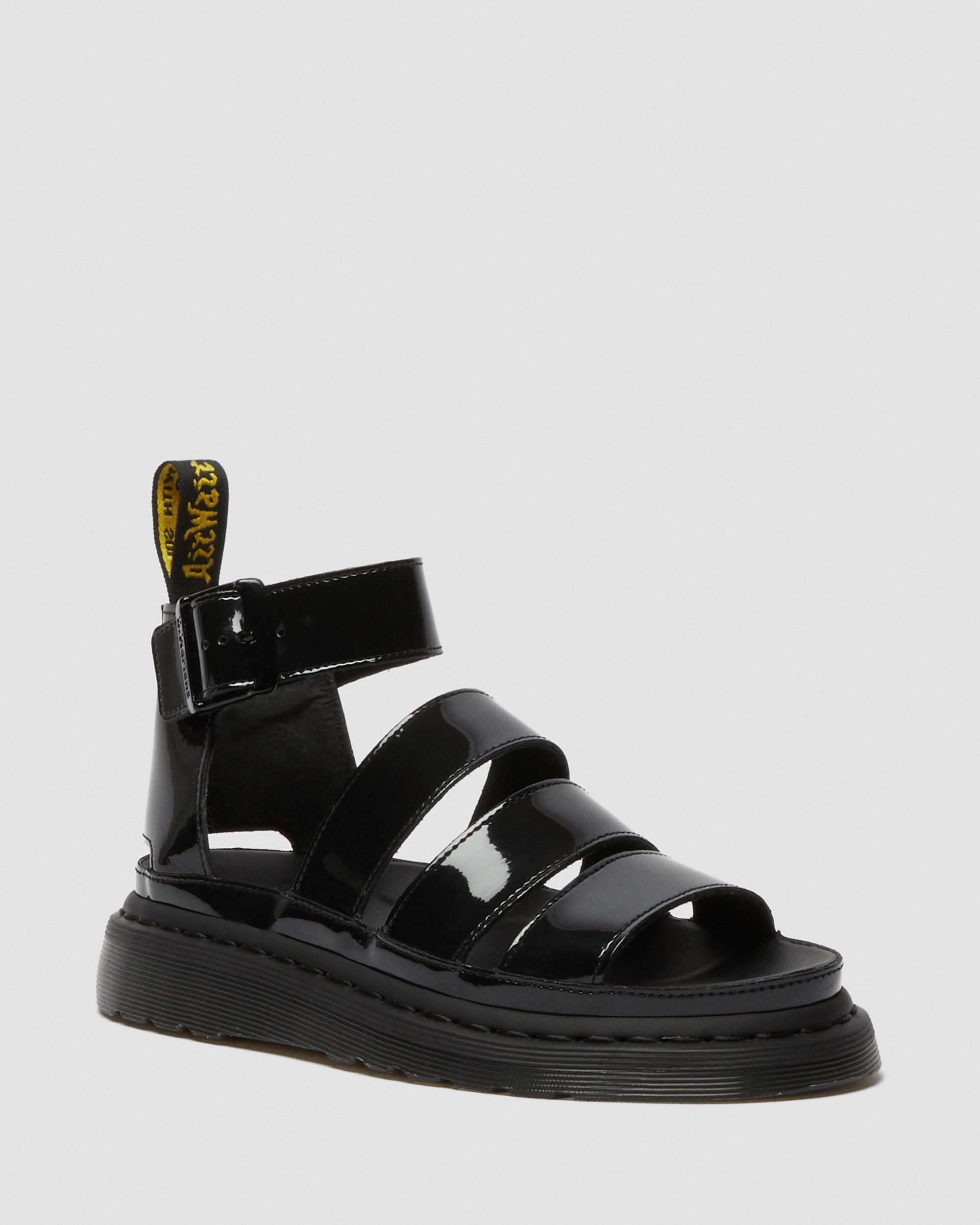 Dr. Martens Blaire Patent Lamper Sandal | Dr martens sandals