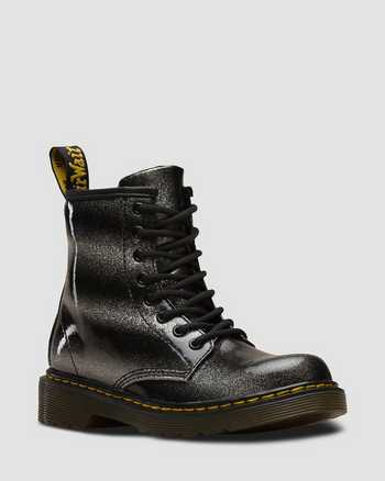 BLACK/SILVER | Boots | Dr. Martens