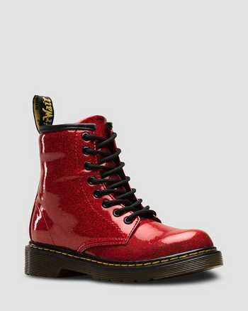 RED | Boots | Dr. Martens