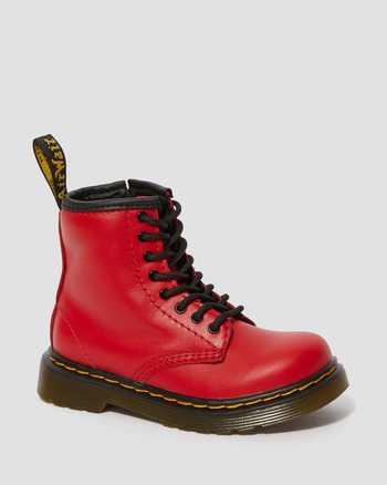 SATCHEL RED | Boots | Dr. Martens