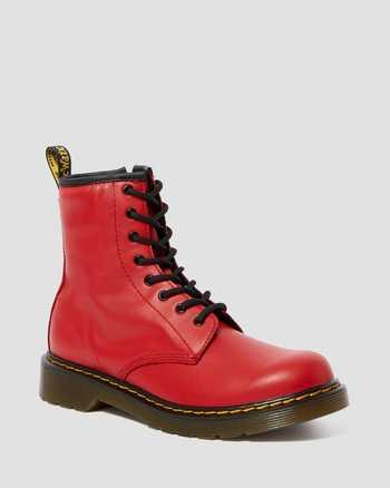 SATCHEL RED | Stivali | Dr. Martens