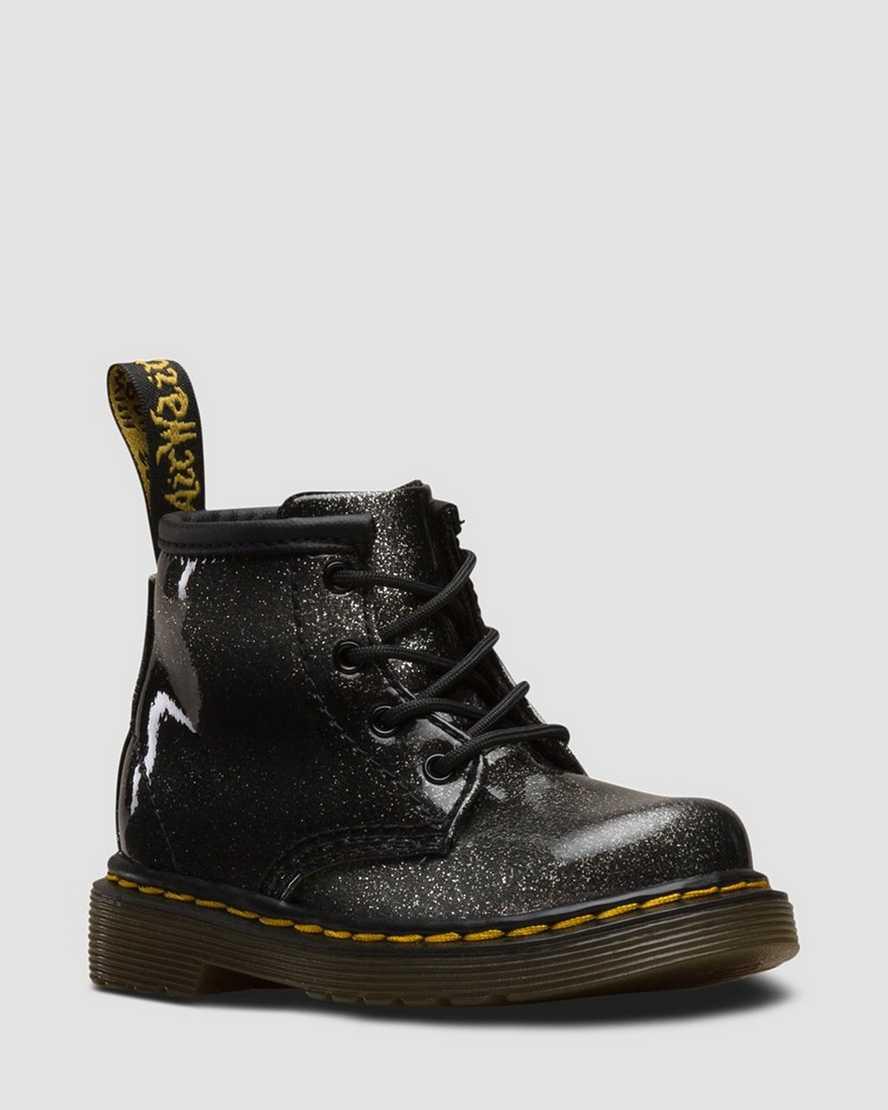 paquet à la mode et attrayant chaussure section spéciale DR MARTENS 1460 Ombre à paillettes bébé