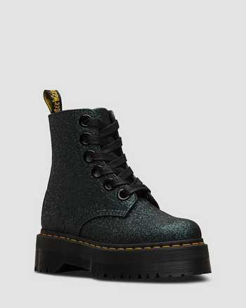 GREEN/BLACK | Boots | Dr. Martens