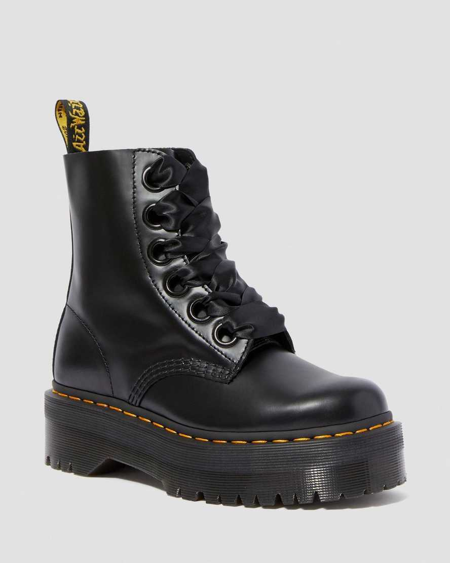 mejor servicio 3bbe6 d5910 DR MARTENS Molly Platform Boots